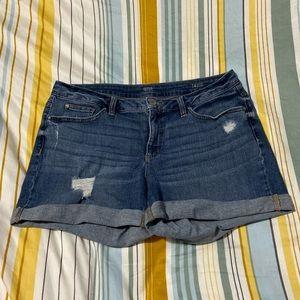 A. N. A. Jean shorts